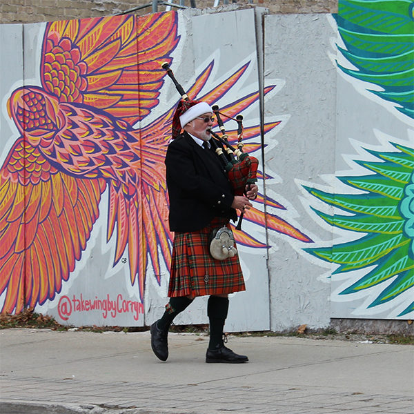 ingersoll pipe band member